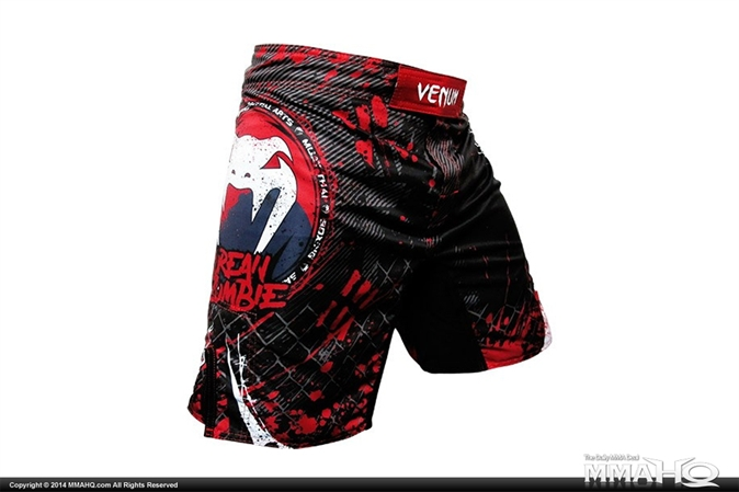 Venum Korean Zombie UFC 163 Fight Shorts - Black